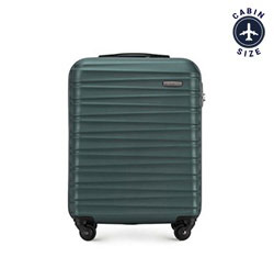 Cabin suitcase, teal blue, 56-3A-311-85, Photo 1