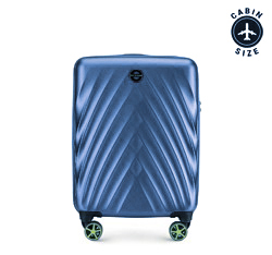 Small suitcase, blue, 56-3P-801-91, Photo 1