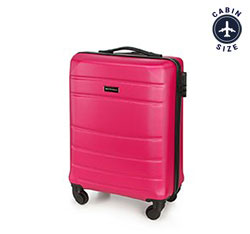 Small suitcase, pink, 56-3A-651-34, Photo 1