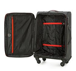 Medium suitcase, grey-red, 56-3S-462-02, Photo 1