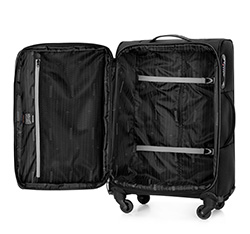 Medium suitcase, black-graphite, 56-3S-462-13, Photo 1