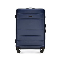 Medium suitcase, navy blue, 56-3A-652-90, Photo 1