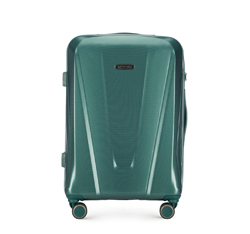 MEDIUM SUITCASE, green, 56-3P-122-85, Photo 1