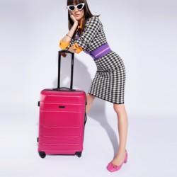 Medium suitcase, pink, 56-3A-652-34, Photo 1
