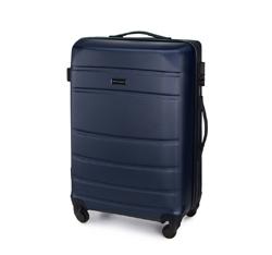 Medium suitcase, navy blue, 56-3A-652-90, Photo 1