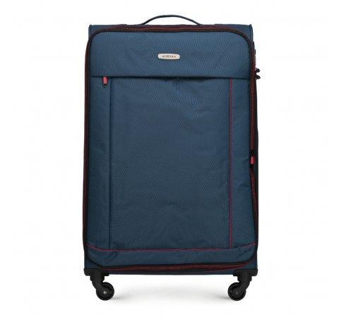 Duża miękka walizka basic, , 56-3S-463-55, Zdjęcie 1