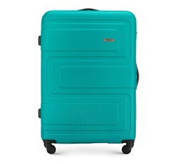 Large suitcase, turquoise, 56-3A-633-85, Photo 1