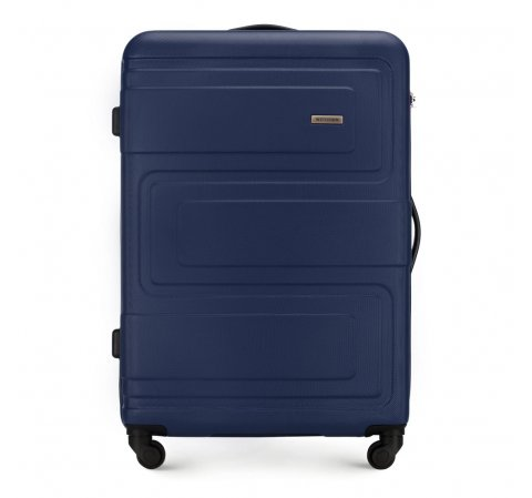 Large suitcase, navy blue, 56-3A-633-95, Photo 1