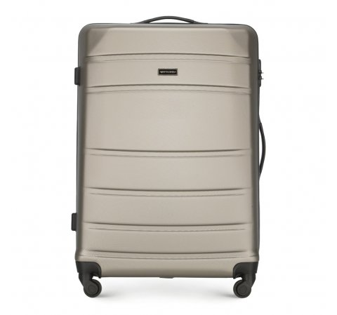 Large suitcase, champagne, 56-3A-653-34, Photo 1