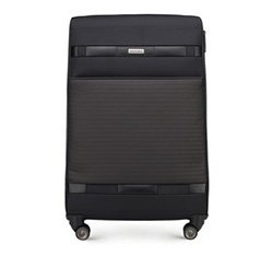 Large suitcase, black, 56-3S-553-10, Photo 1