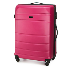 Large suitcase, pink, 56-3A-653-34, Photo 1