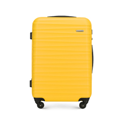 Medium suitcase, yellow, 56-3A-312-50, Photo 1