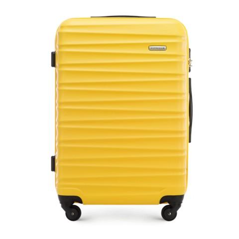 Walizka średnia, żółty, 56-3A-312-11, Zdjęcie 1