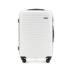 Medium suitcase, white, 56-3A-312-88, Photo 1
