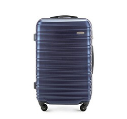 Medium suitcase, navy blue, 56-3A-312-95, Photo 1
