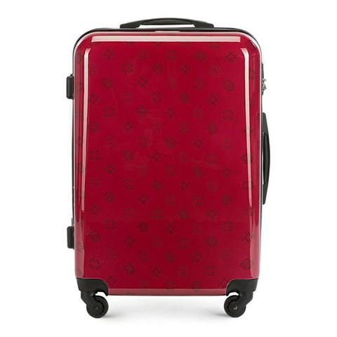 Walizka średnia, czerwony, 56-3A-332-30, Zdjęcie 1