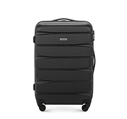Medium suitcase, black, 56-3A-362-10, Photo 1