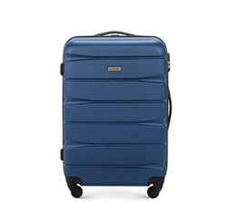 Medium suitcase, navy blue, 56-3A-362-90, Photo 1