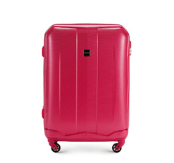 Medium suitcase, pink, 56-3A-372-60, Photo 1