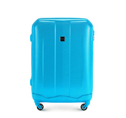 Medium suitcase, sky blue, 56-3A-372-77, Photo 1