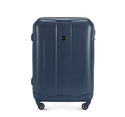 Medium suitcase, navy blue, 56-3A-372-90, Photo 1