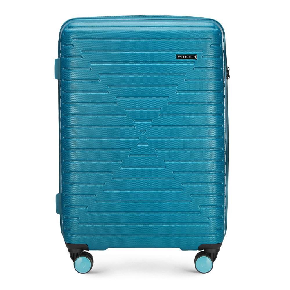 Купить Средний чемодан, WITTCHEN, Германия, голубой