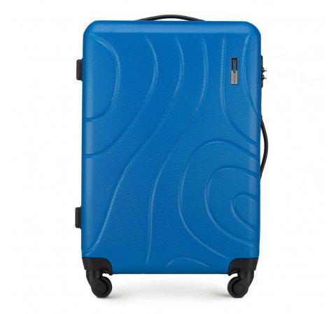 Walizka średnia, niebieski, 56-3A-572-90, Zdjęcie 1