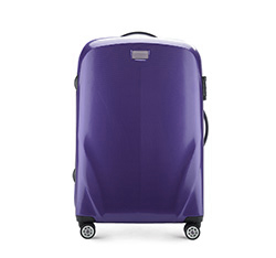 Medium suitcase, violet, 56-3P-572-24, Photo 1