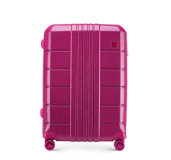 Medium suitcase, pink, 56-3P-822-60, Photo 1