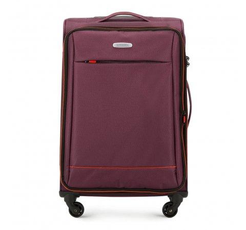 Medium suitcase, burgundy, 56-3S-462-35, Photo 1