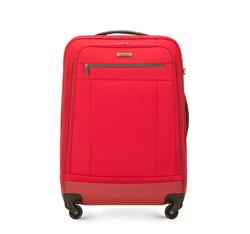 Walizka średnia, czerwony, 56-3S-512-30, Zdjęcie 1