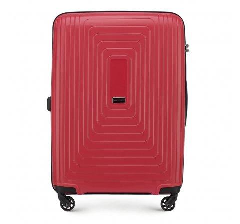 Walizka średnia, czerwony, 56-3T-782-30, Zdjęcie 1