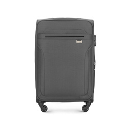 Medium suitcase, grey, V25-3S-262-00, Photo 1