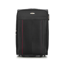 Medium suitcase, black, V25-3S-272-10, Photo 1