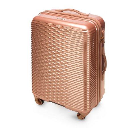Średniej wielkości walizka - kolekcja Wavy Line