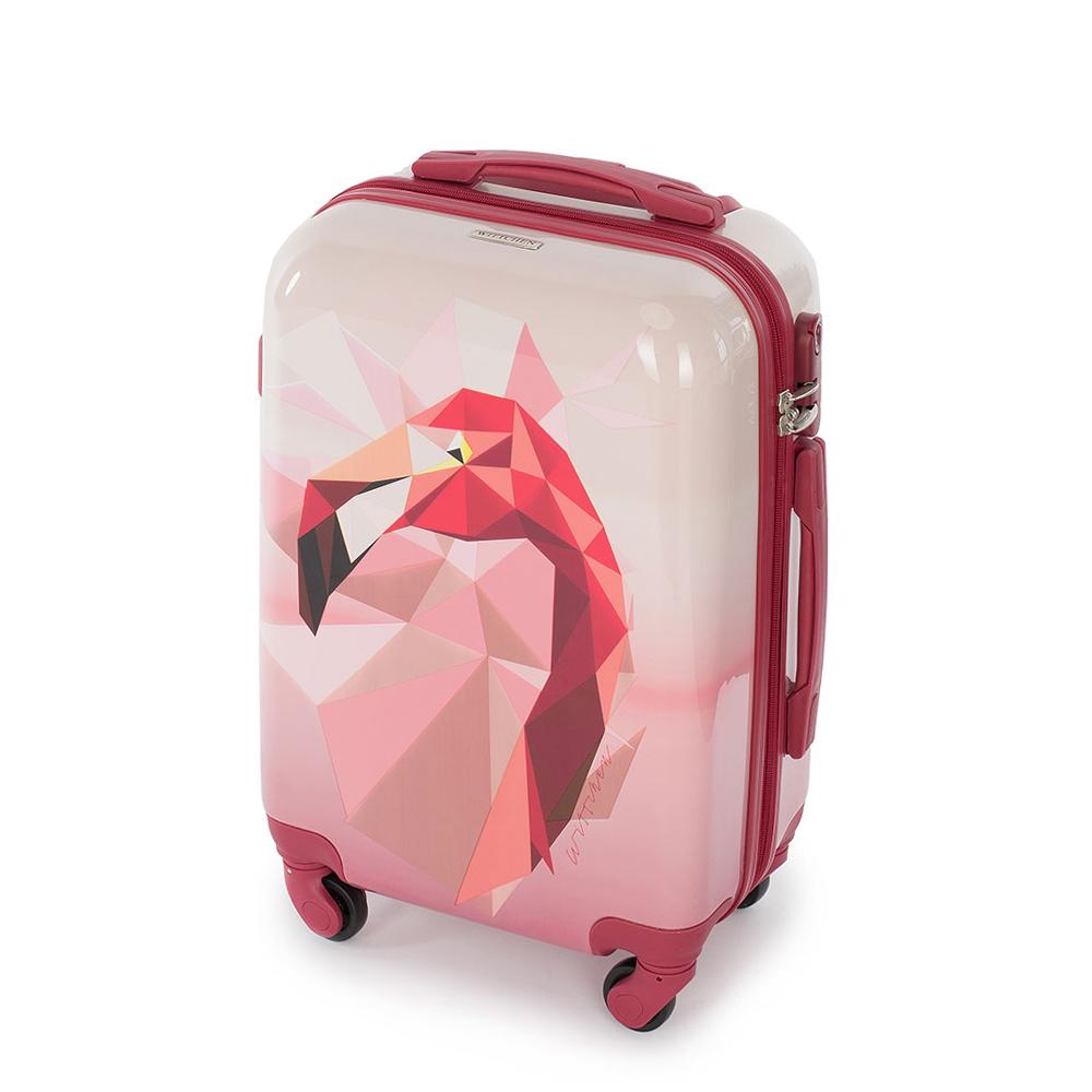 Medium suitcase, pink, 56-3A-642-34, Photo 1