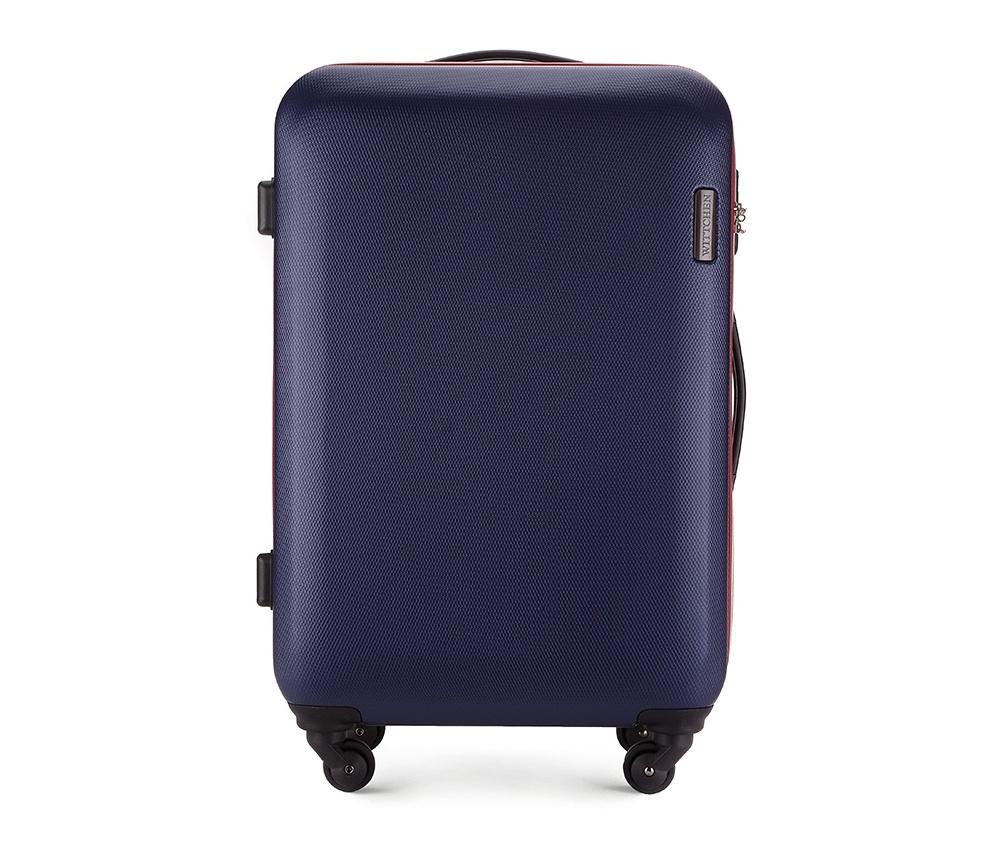 Чемодан на колёсиках 24\\Средний чемодан из коллекции ABS S-Line сделан из высокопрочного и устойчивого к царапинам пластика ABS. Выдвижная ручка, главное отделение на молнии с кодовым замком TSA, разделённое на две части: одно отделение с фиксирующими ремнями для одежды, второе отделение закрывается на молнию, внутренний карман на молнии.<br><br>секс: унисекс<br>материал:: ABS пластик<br>высота (см):: 71<br>ширина (см):: 47.5<br>глубина (см):: 24<br>вес (кг):: 3.8<br>объем (л):: 64