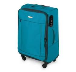 Medium suitcase, turquoise, 56-3S-462-95, Photo 1