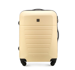 Medium suitcase, ecru, 56-3A-252-85, Photo 1