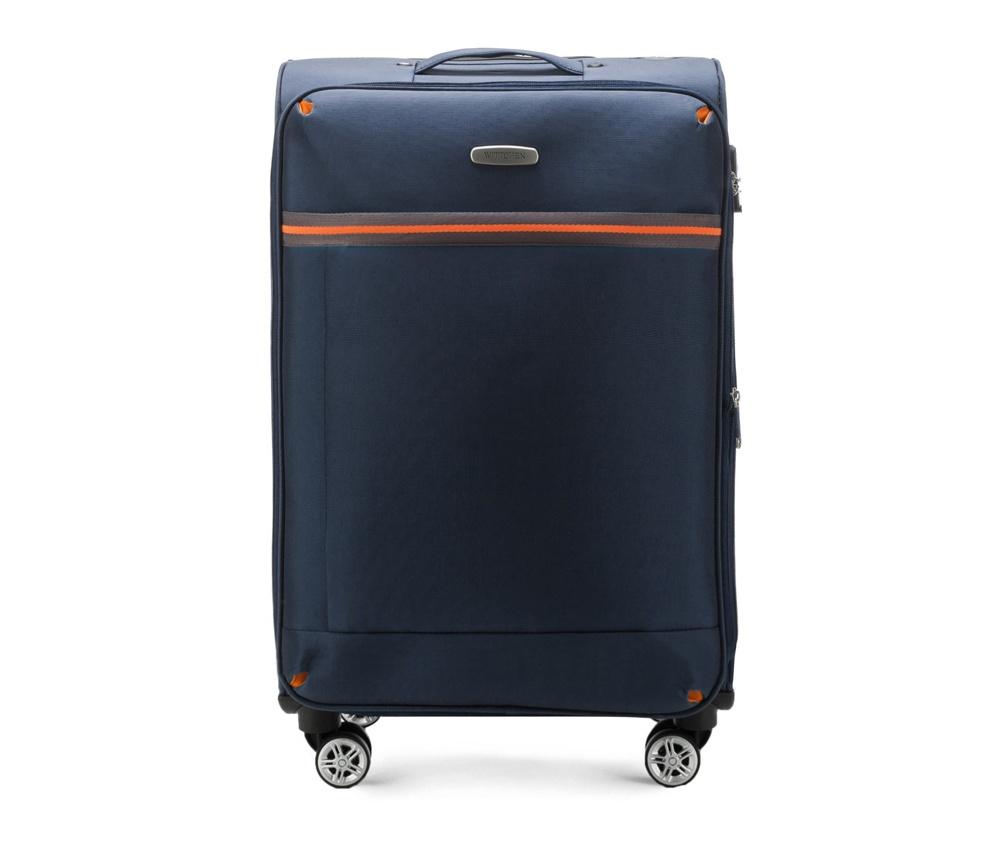 Средний чемодан 24\Средний чемодан из коллекции Comfort Line сделан из высокопрочного полиэестра. Выдвижная ручка, главное отделение на молнии с кодовым замком TSA, разделённое на две части: одно отделение с фиксирующими ремнями для одежды, второе отделение закрывается на молнию, внутренний карман на молнии.<br><br>секс: унисекс<br>Цвет: синий<br>материал:: Полиэстер<br>подкладка:: полиэстр<br>высота (см):: 71<br>ширина (см):: 42<br>глубина (см):: 28<br>размер:: средний<br>объем (л):: 67<br>вес (кг):: 3,2