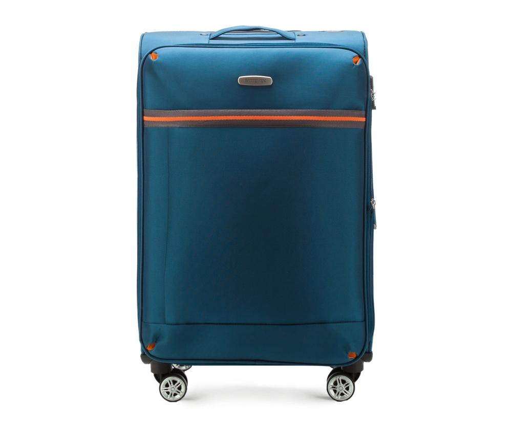 Средний чемодан 24\Средний чемодан из коллекции Comfort Line сделан из высокопрочного полиэестра. Выдвижная ручка, главное отделение на молнии с кодовым замком TSA, разделённое на две части: одно отделение с фиксирующими ремнями для одежды, второе отделение закрывается на молнию, внутренний карман на молнии.<br><br>секс: унисекс<br>Цвет: голубой<br>материал:: Полиэстер<br>подкладка:: полиэстр<br>высота (см):: 71<br>ширина (см):: 42<br>глубина (см):: 28<br>размер:: средний<br>объем (л):: 67<br>вес (кг):: 3,2