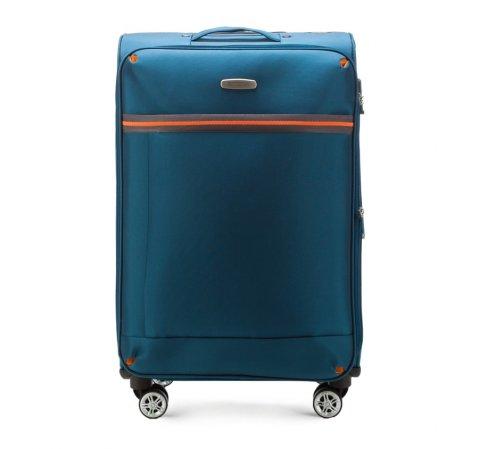 Walizka średnia, niebieski, 56-3S-492-95, Zdjęcie 1