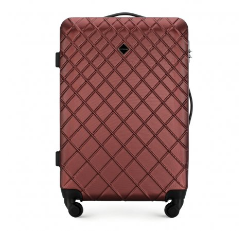 Medium suitcase, burgundy, 56-3A-552-91, Photo 1