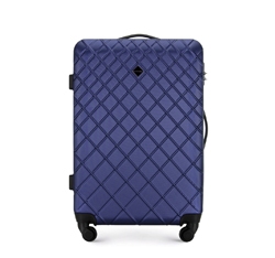 Medium suitcase, navy blue, 56-3A-552-91, Photo 1