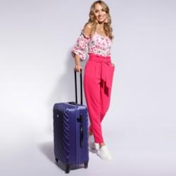 Medium suitcase, navy blue, 56-3A-552-91, Photo 1