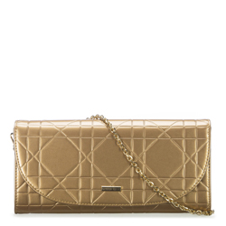 Clutch bag, gold, 91-4Y-603-G, Photo 1