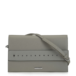 women's evening handbag, grey, 91-4Y-712-8, Photo 1
