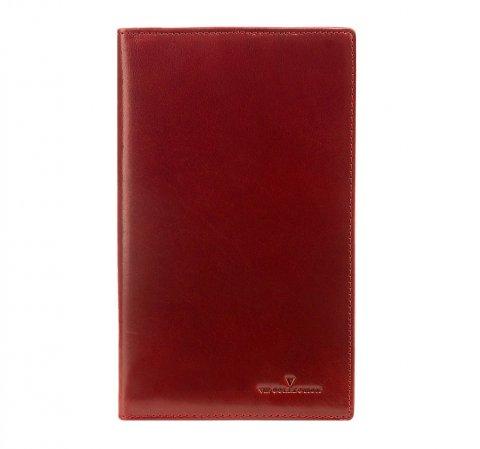 Wizytownik, czerwony, V04-02-084-30, Zdjęcie 1