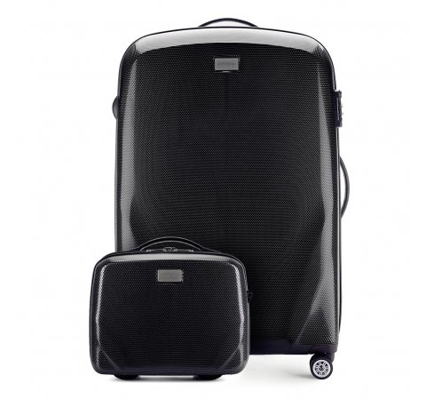 Большой чемодан + косметичка 56-3P-573_4-10