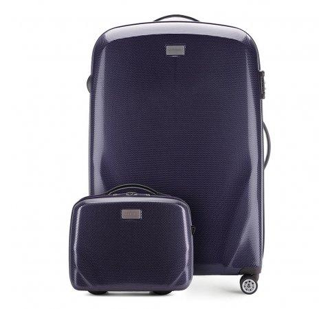 Большой чемодан + косметичка 56-3P-573_4-90